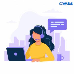 پشتیبانی در نرم افزار CRM